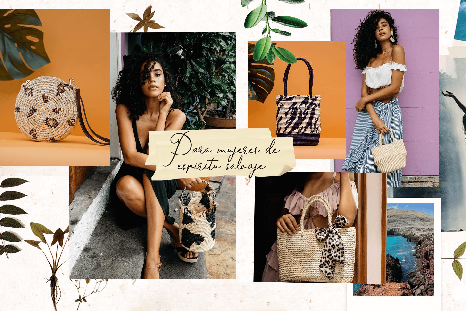 Bolsos de playa y capazos de verano